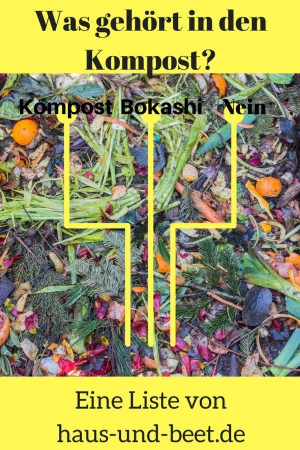 Was in den Kompost gehört