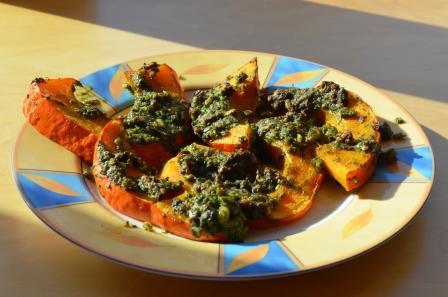 Kürbis geröstet mit Feta Rezepte im Herbst