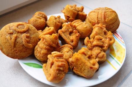 Nicht nur zu Halloween Kürbis-Muffins rezepte im Herbst