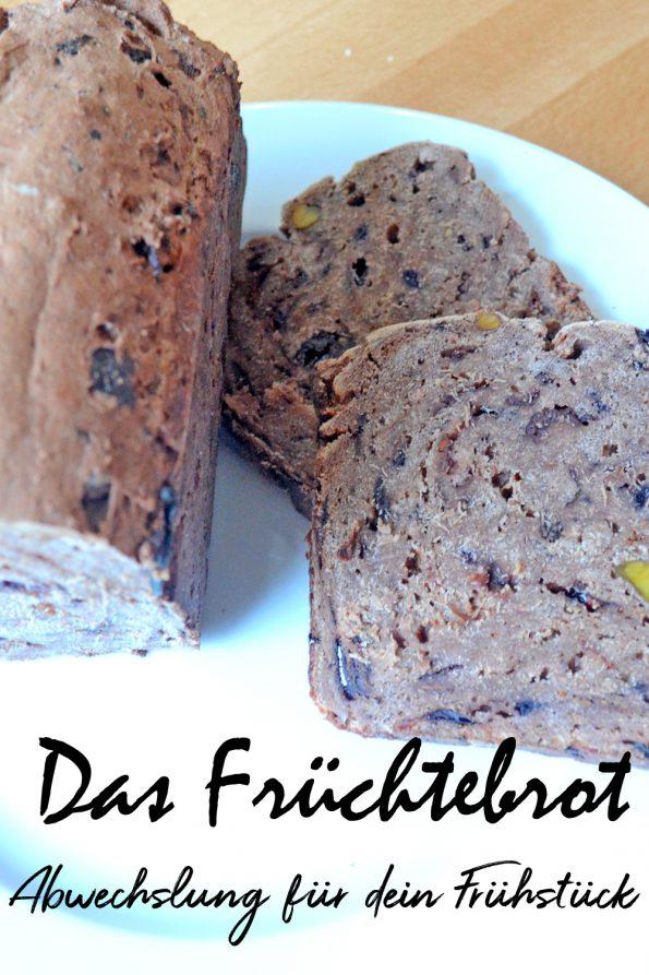 Früchtebrot. Das süße Brot ohne Zucker, mit Saft und Trockenobst