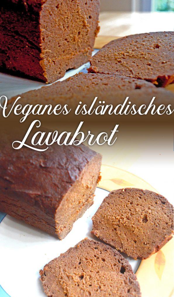 Isländisches Lavabrot. Ein veganes Rezept
