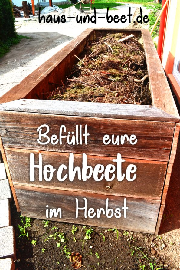 Wie Werden Hochbeete Befullt Haus Und Beet