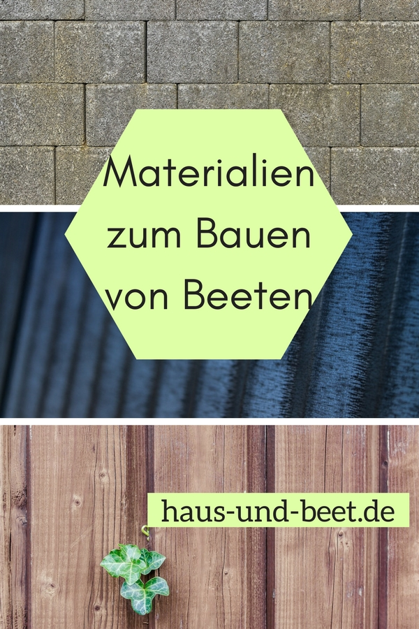 materialien zum bauen von beeten haus und beet. Black Bedroom Furniture Sets. Home Design Ideas