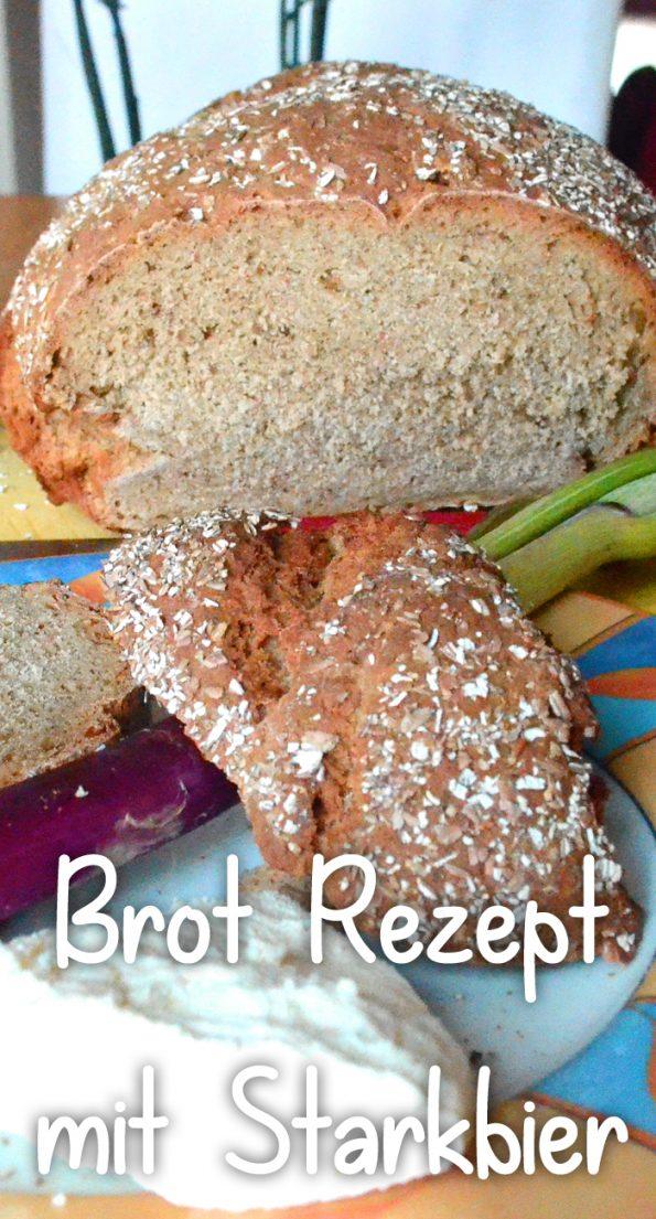 Starkbier Brot Rezept vegan