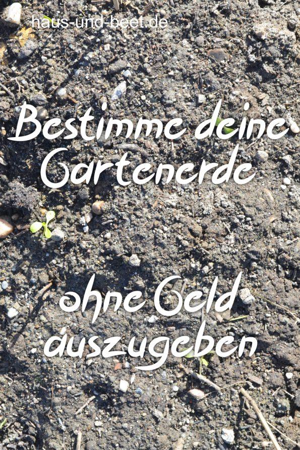 Gemüsebeet anlegen, Erde bestimmen