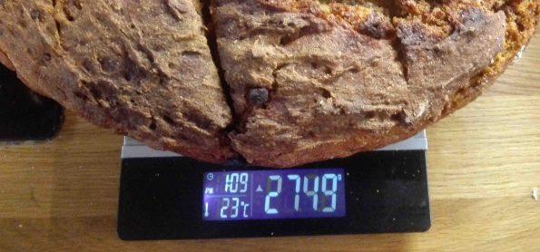Kartoffelbrot vegetarische Brot backen Gewicht