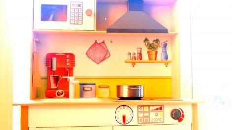 Mikrowelle ersetzen in der Küche
