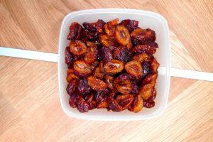 Obst und Gemuese trocknen Trockenobst