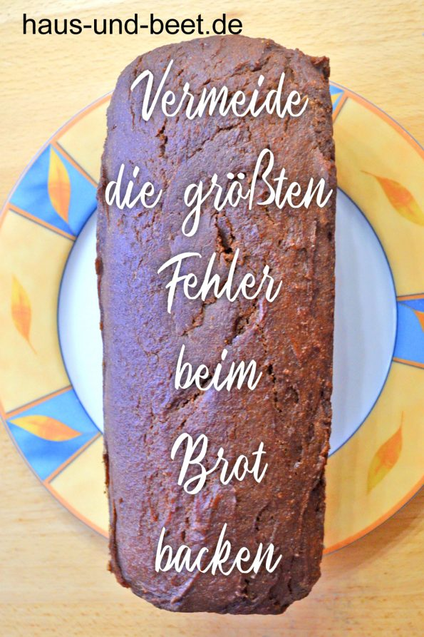 Fehler beim Brot backen