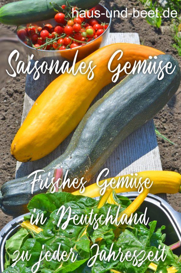 Saisonales Gemüse, frisches Gemüse in Deutschland