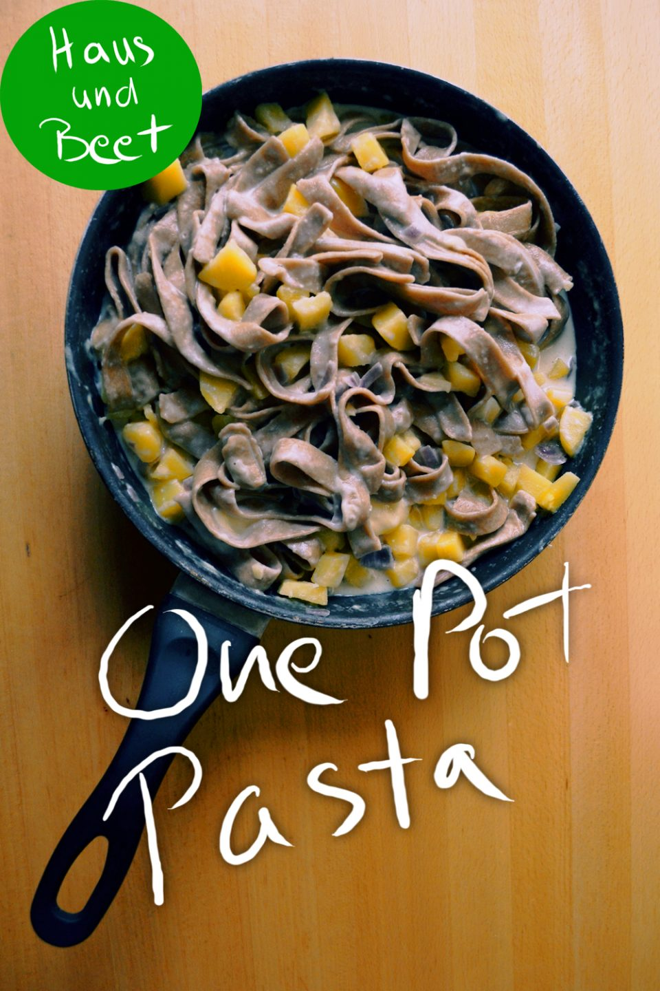 One Pot Pasta, vegetarisches Gericht