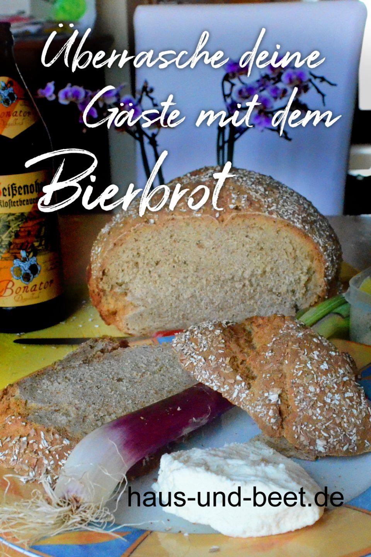 Bier Brot zum Brunch und Frühstück