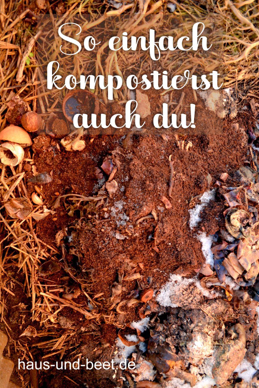 Wie kompostiert man richtig, Richtig kompostieren