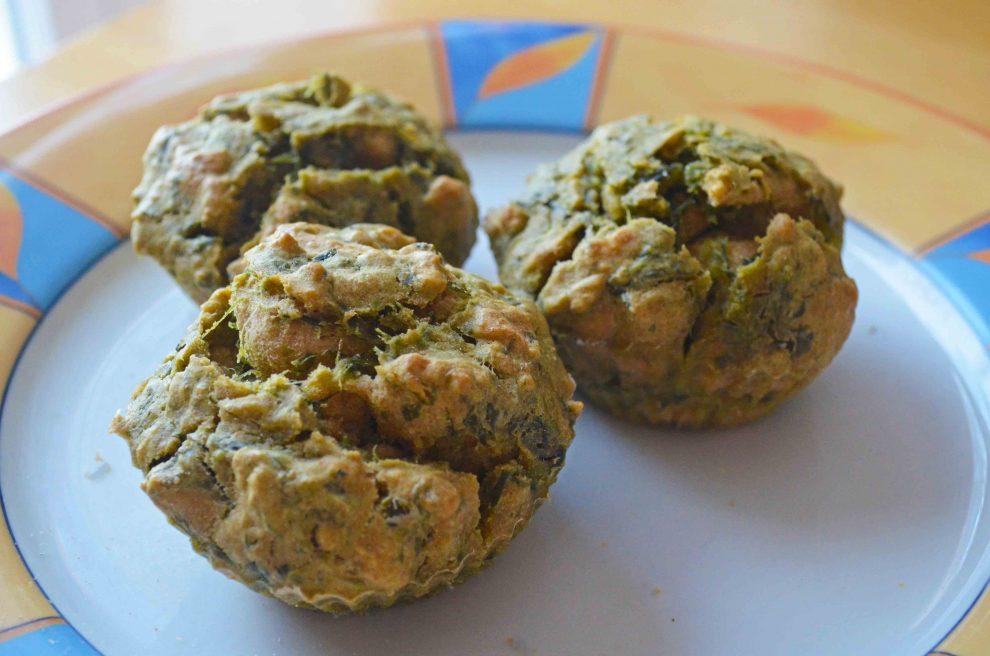 Bärlauch Muffins vegetarisch und schnell