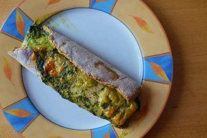 Bärlauch Pizza vegetarisch und schnell