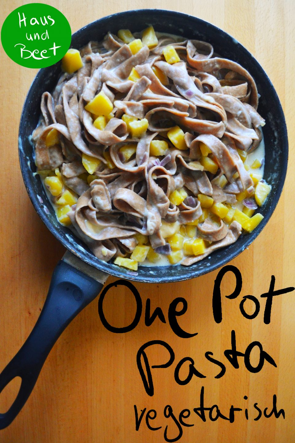 One Pot Pasta vegetarisches Gericht