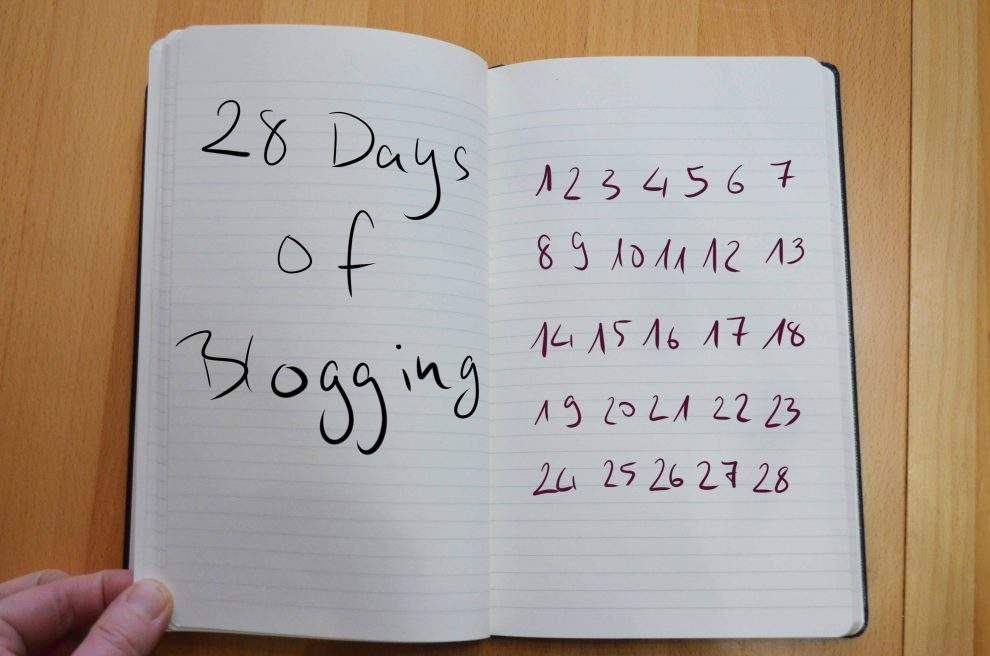 28 day of blogging 2019