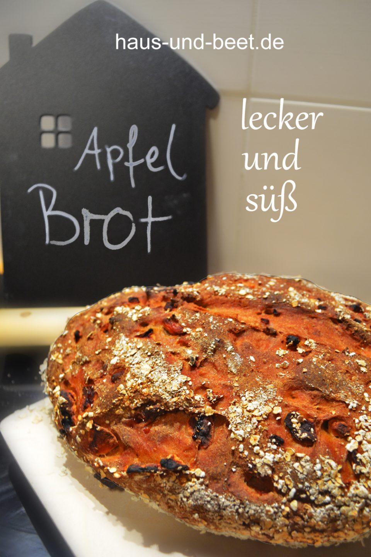 Apfelbrot veganes Brot Rezept
