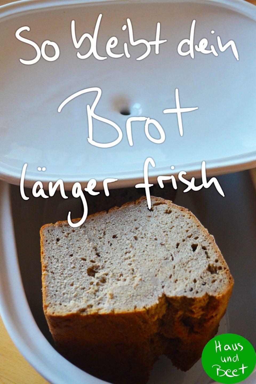 Brot Lagern So Hält Sich Das Brot Länger Frisch Haus Und Beet