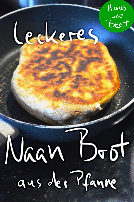 Naan Brot Rezept aus der Pfanne