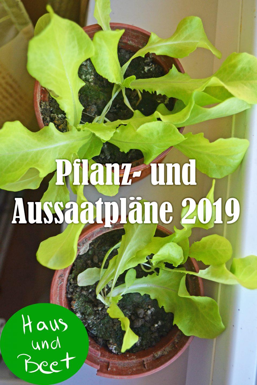 Pflanz und Aussaatpläne 2019