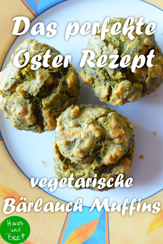 Bärlauch Muffins Ostern