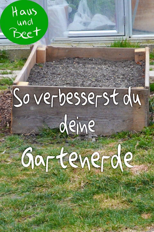 Gartenerde für Gemüse anbauen