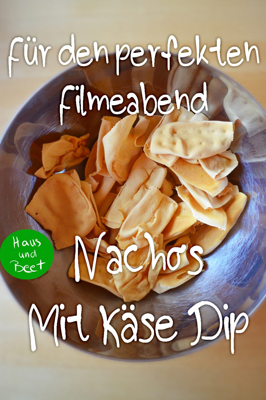 Käse Dip Nachos selber machen