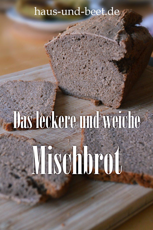 Leckeres weiches Mischbrot