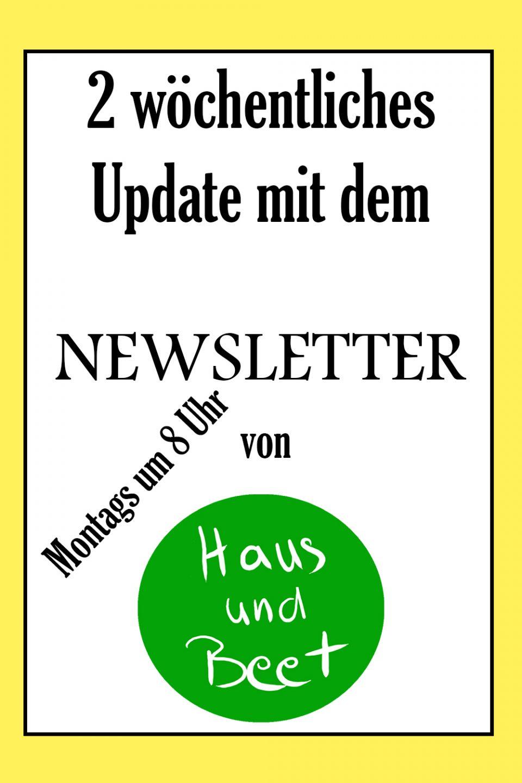 Newsletter Haus und Beet