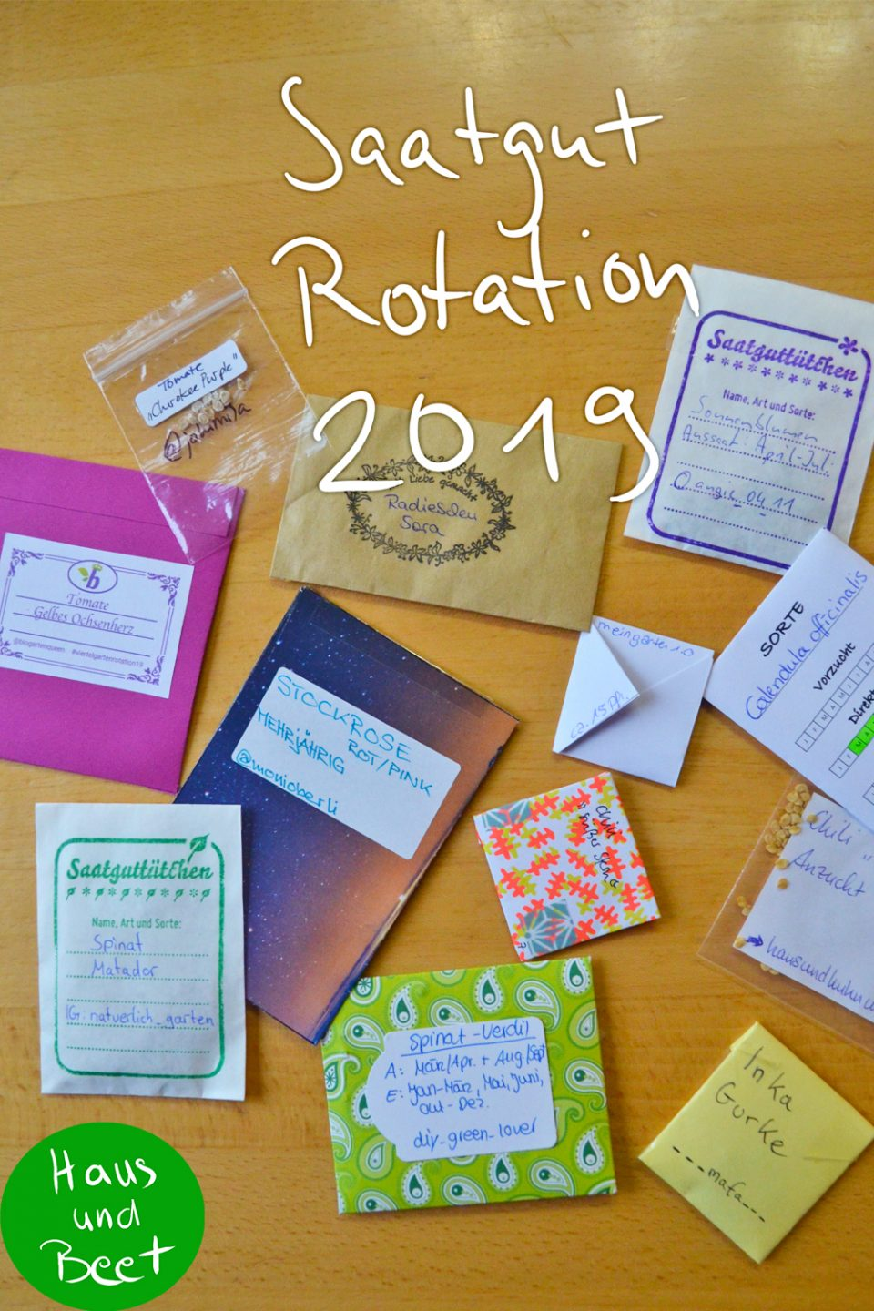 Saatgut Rotation 2019