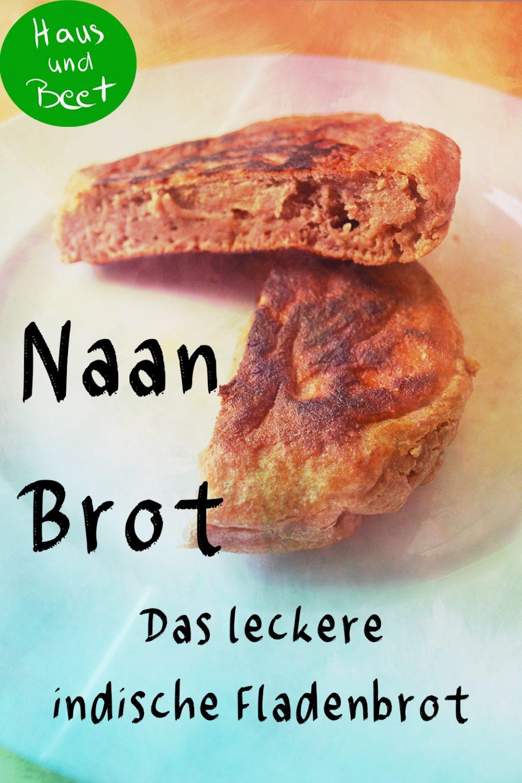 Naan Brot, veganes Brot Rezept
