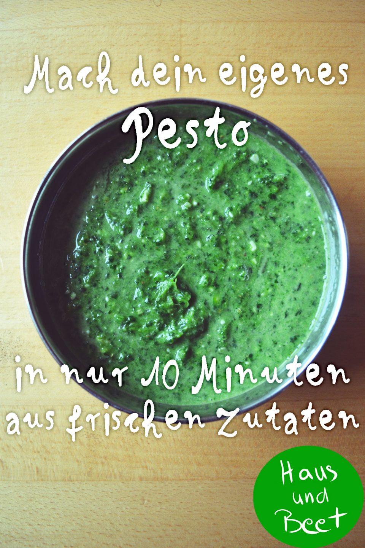 Pesto selbst machen