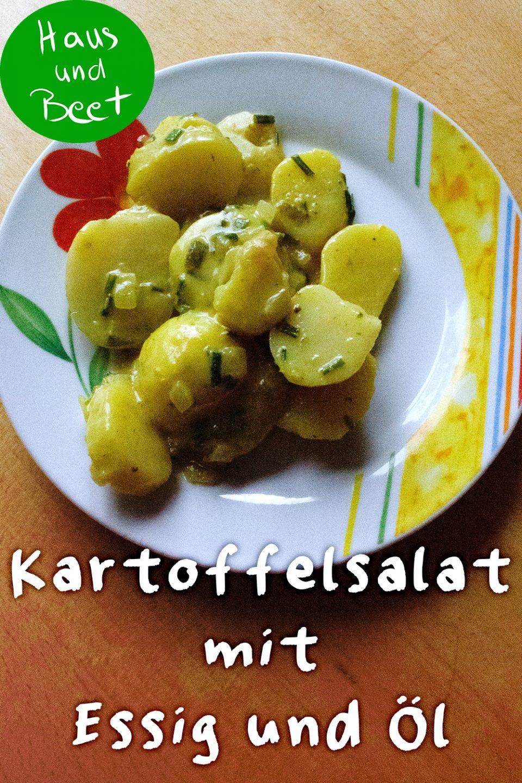 Kartoffelsalat Rezept Essig Öl