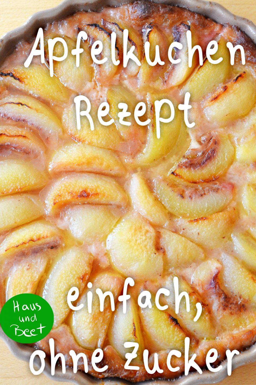Apfelkuchen Rezept einfach