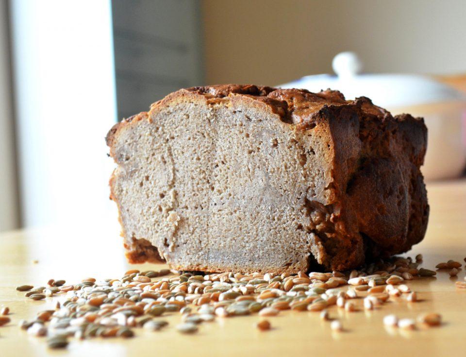 Dinkelroggenbrot Sauerteig Brot