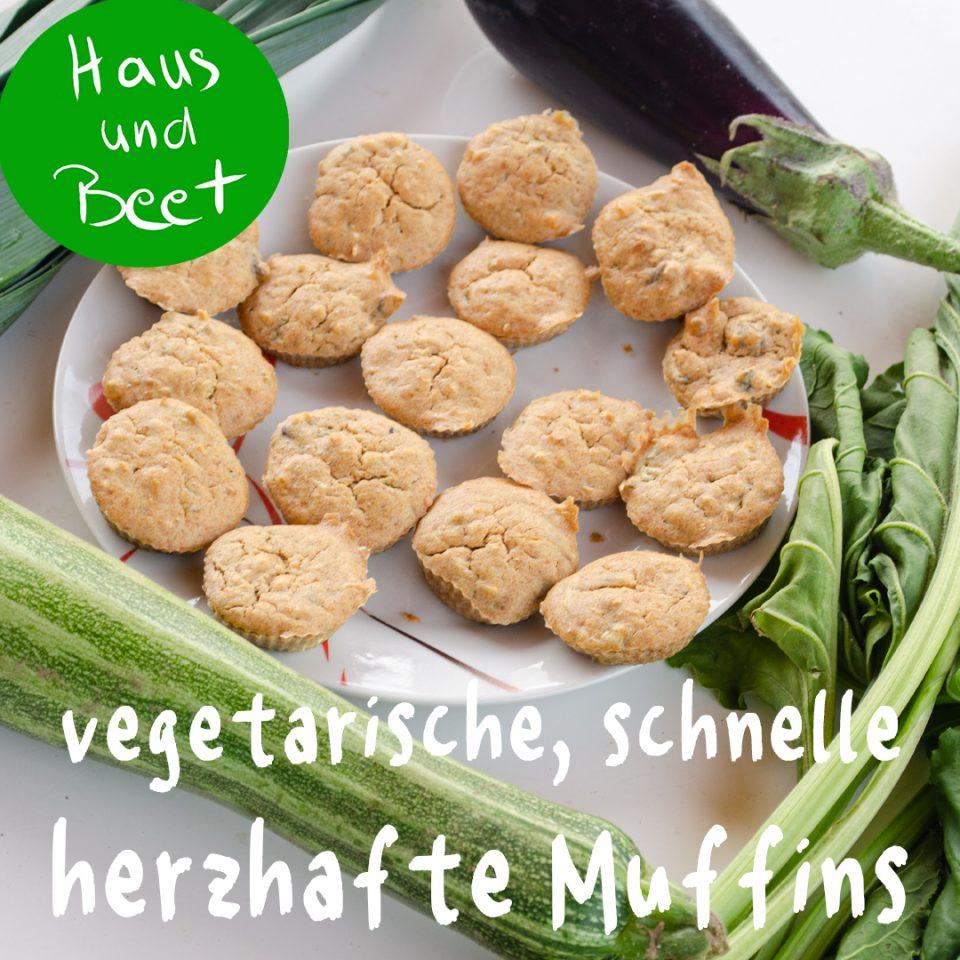 Herzhafte Muffins Gemüse