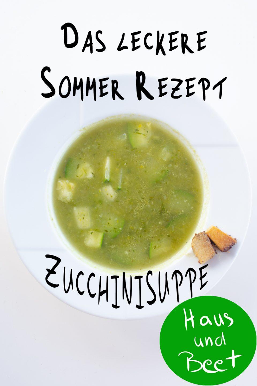 Zucchinisuppe