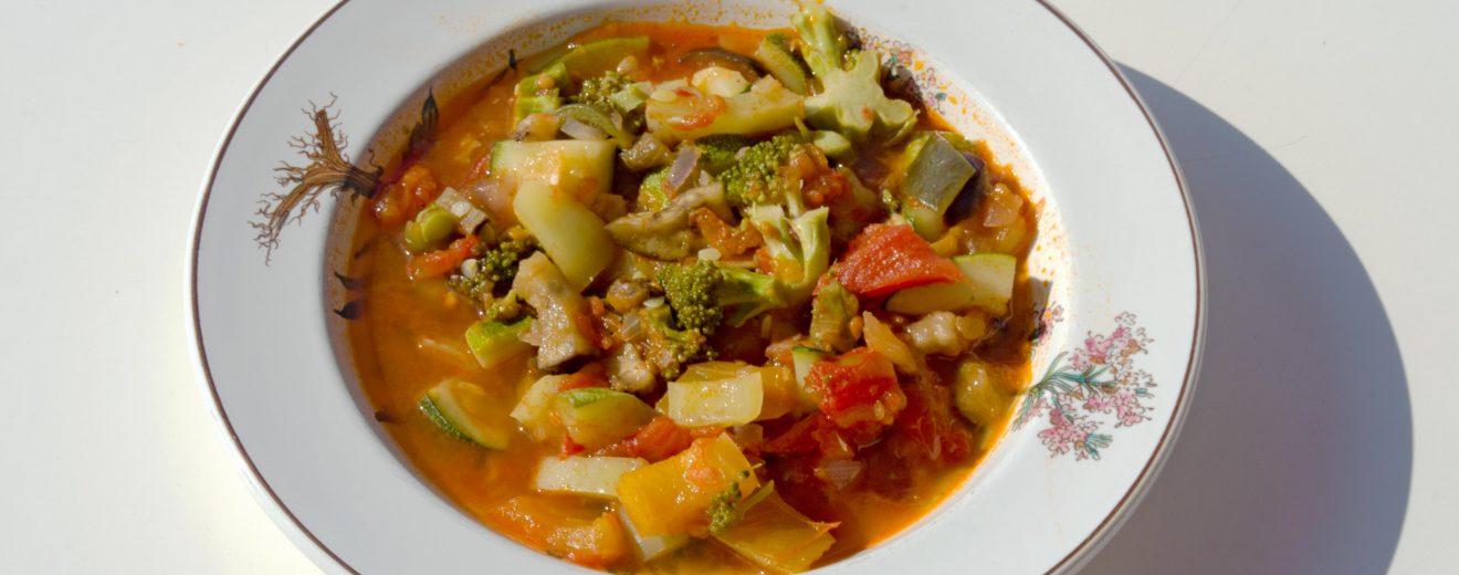 Ratatouille veganes Rezept