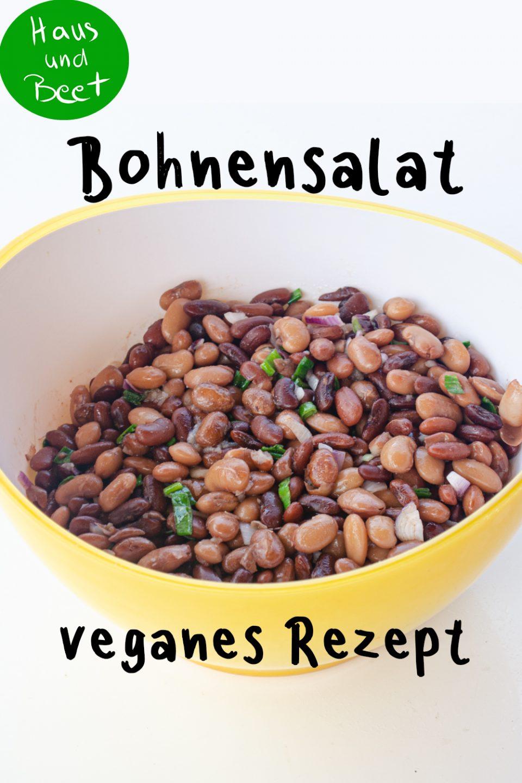 Bohnensalat vegan