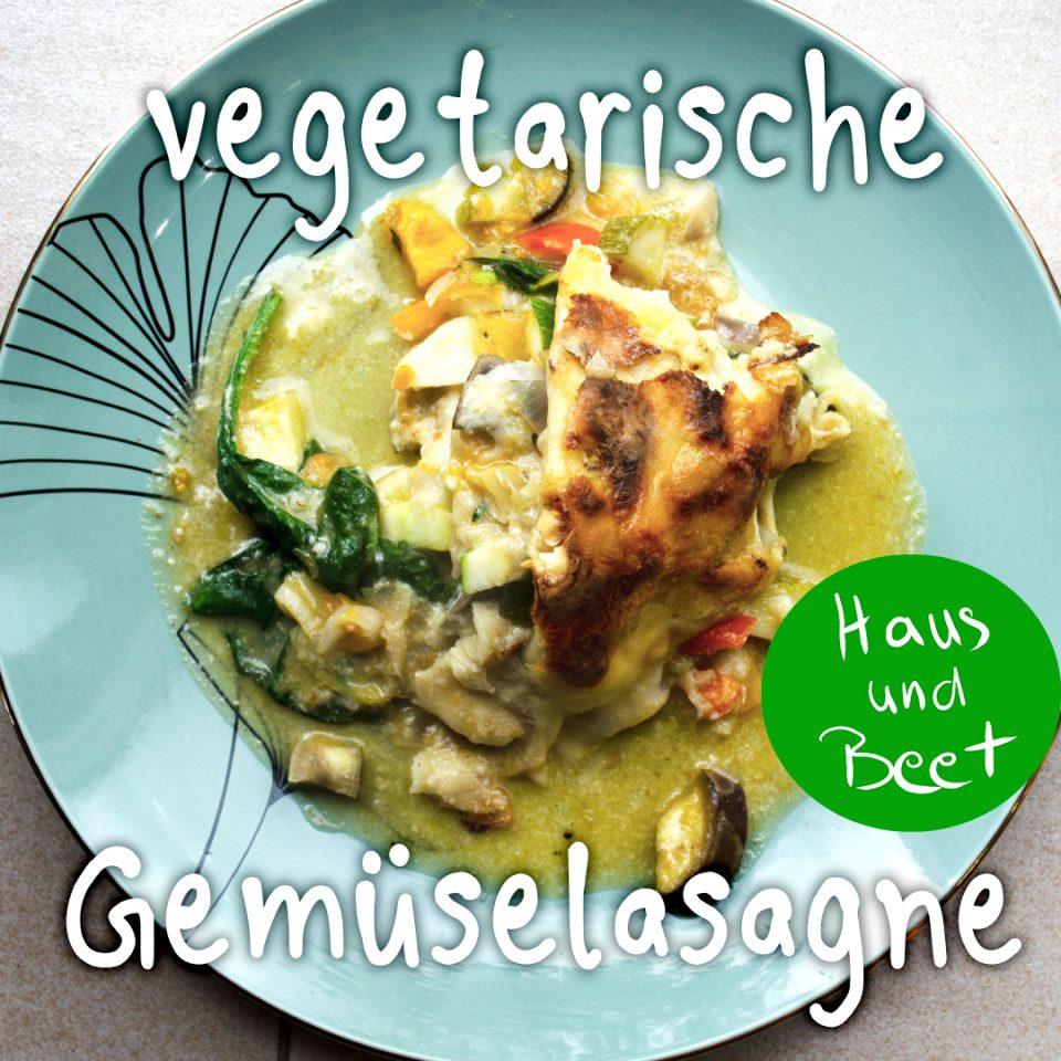 Gemüselasagne vegetarisch