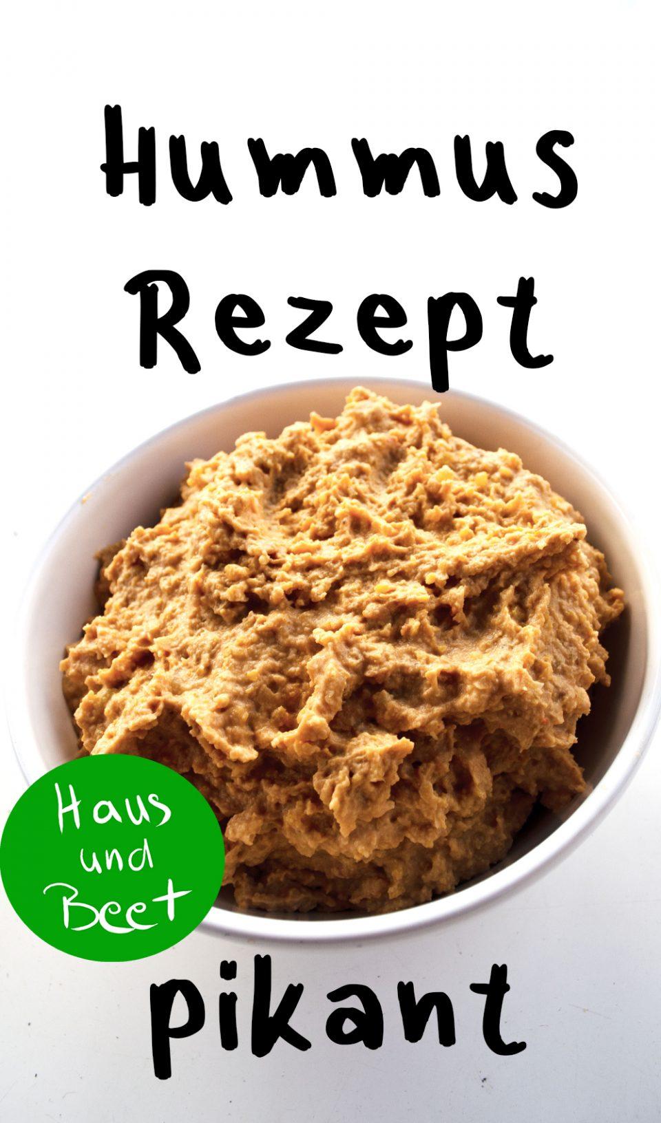 Hummus Rezept pikant