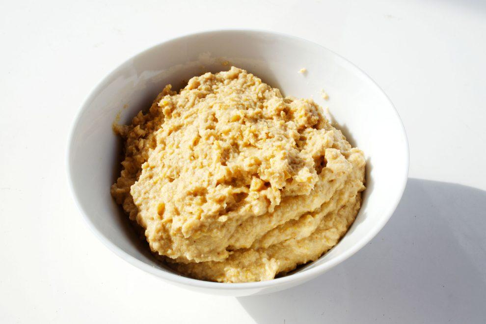 Hummus Grundezept mit Tahini vegan