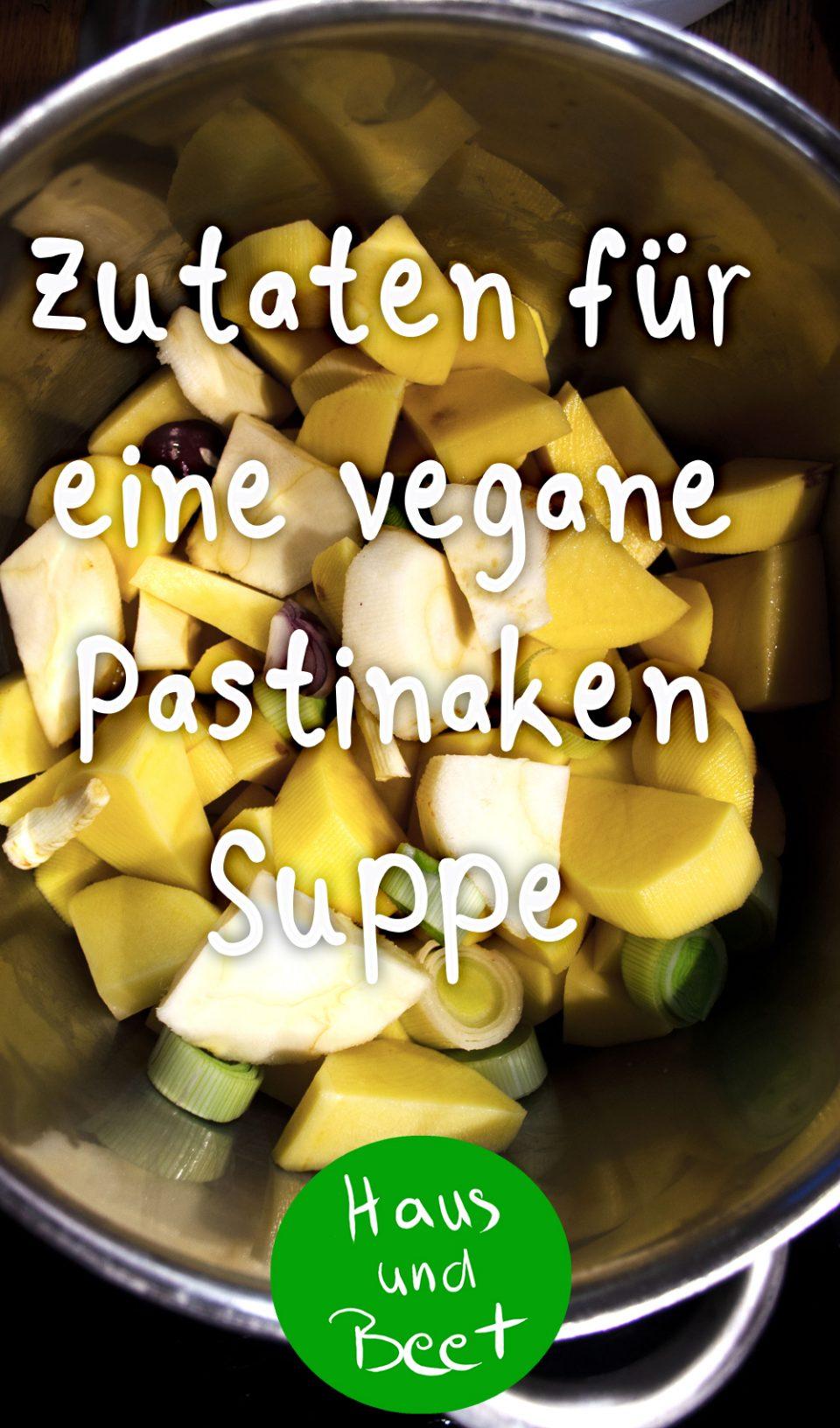 Pastinakensuppe vegan