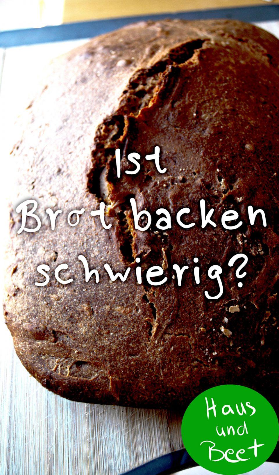 Brot selber backen einfach