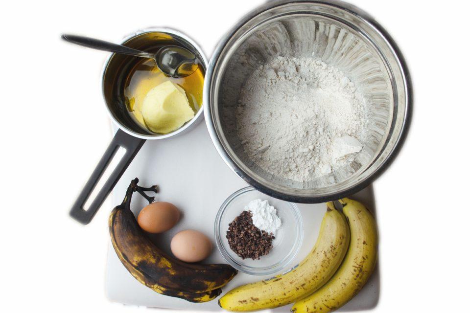 Bananenbrot mit wenigen Zutaten