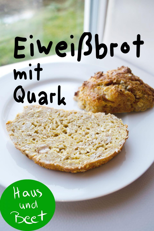 Eiweißbrot mit Quark