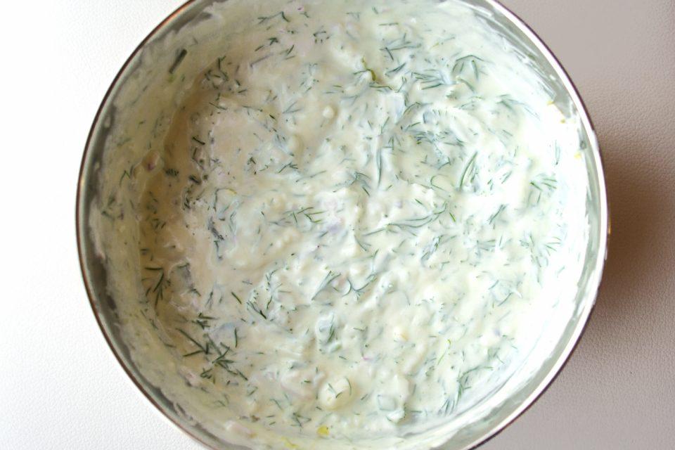 Gurkensalat Joghurtdressing mit Dill