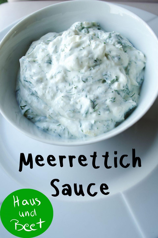 Meerrettich Sauce
