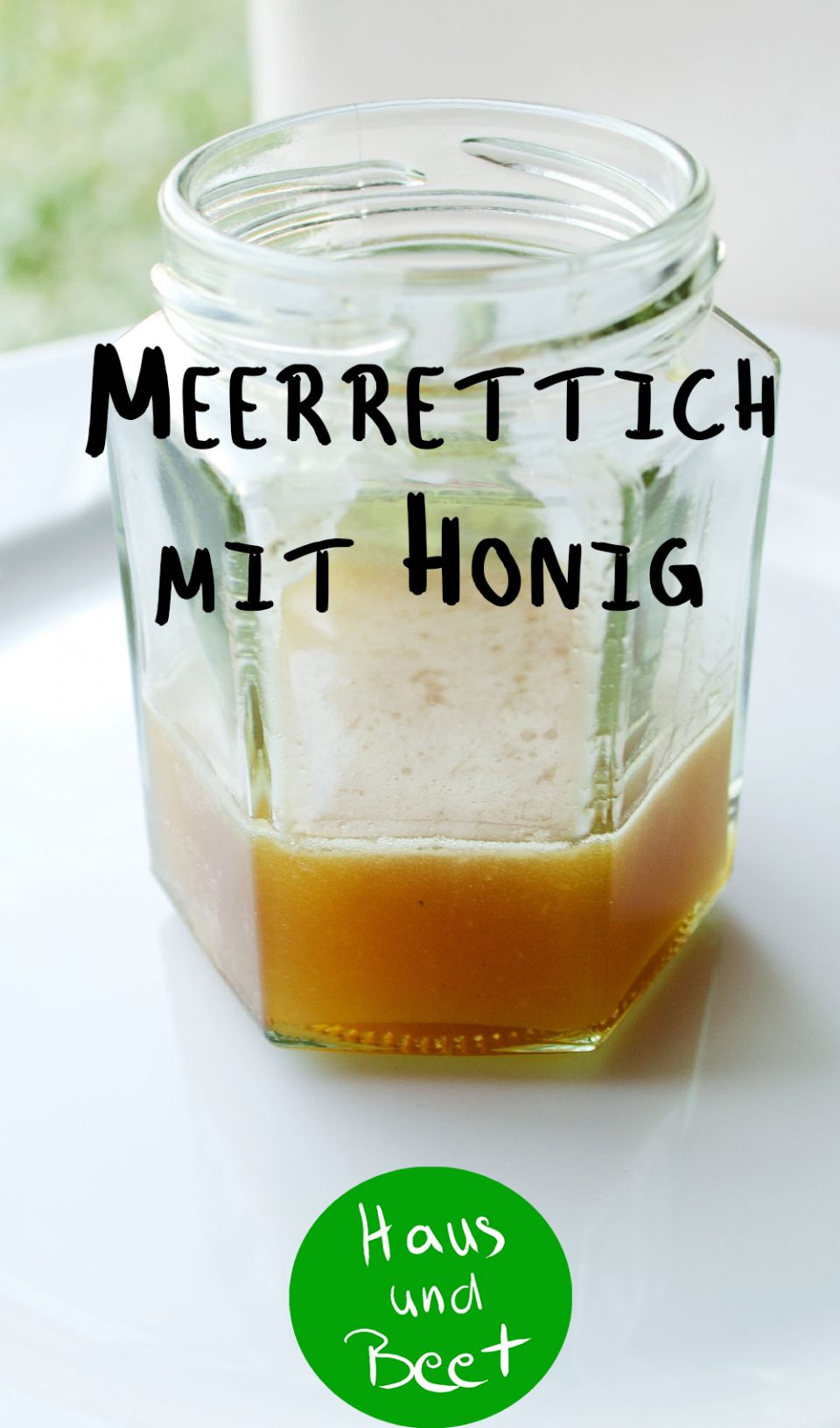 Meerrettich mit Honig